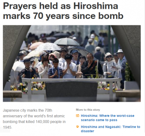 AJ Prayers Hiroshima 70years-1