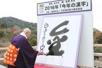 2016年今年の漢字僕には開くが今年の漢字で的確