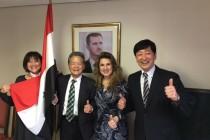 シリア情勢は日本、世界の大きな課題だ、やんぞ!
