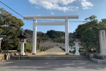 安房神社と洲崎神社