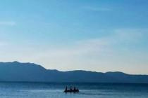琵琶湖は美しく深い